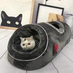 Load image into Gallery viewer, Comfortable Tunnel Cat Bed - Nest