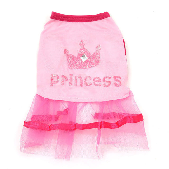 Summer Tulle Princess Pink Dress