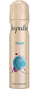 Impulse tease  body fragrance 75ml