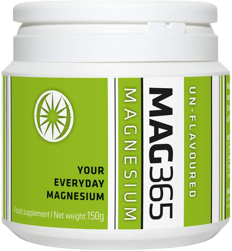 Mag365 Magnesium Powder 150g Unflavoured