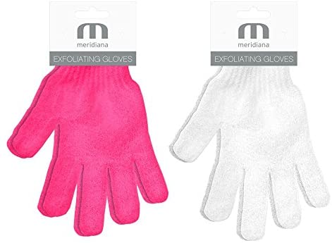 Meridiana exfoliating gloves x 1 pair