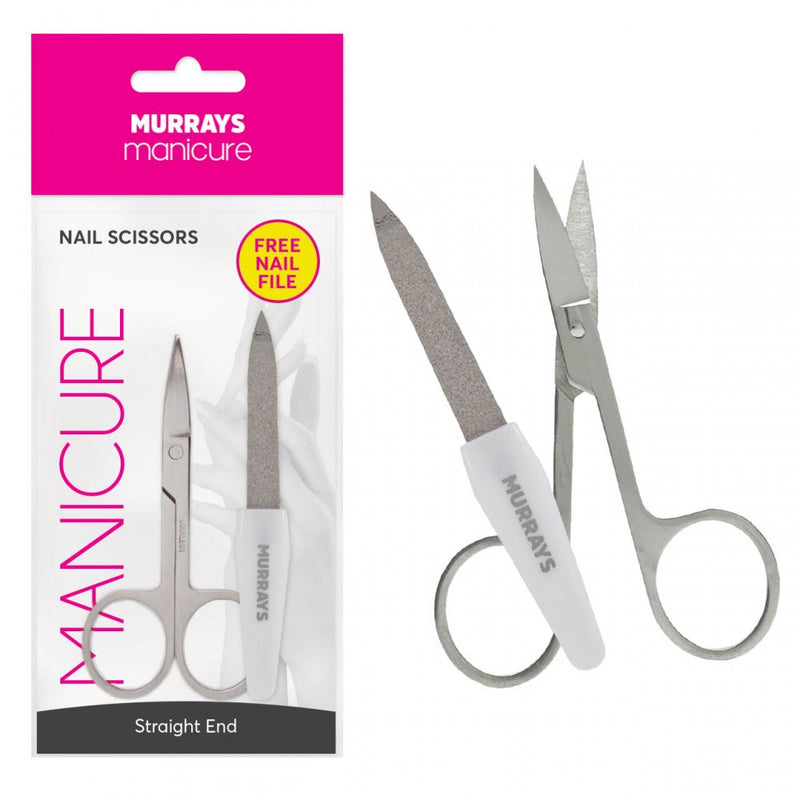Murrays nail scissors straight end