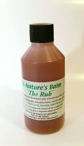 Nature's Balm. 'The Rub' 100ml
