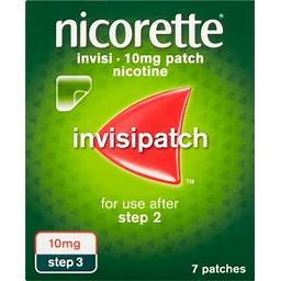 Nicorette 10mg invisipatch step 3