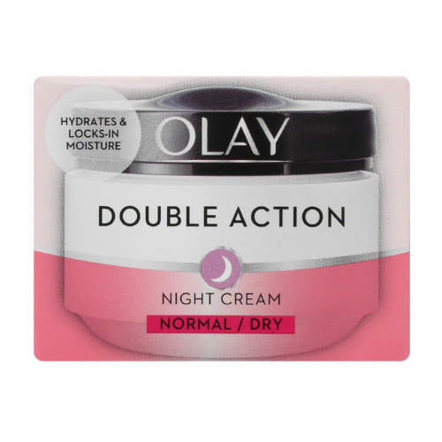 Olay double action night cream normal or dry 50ml