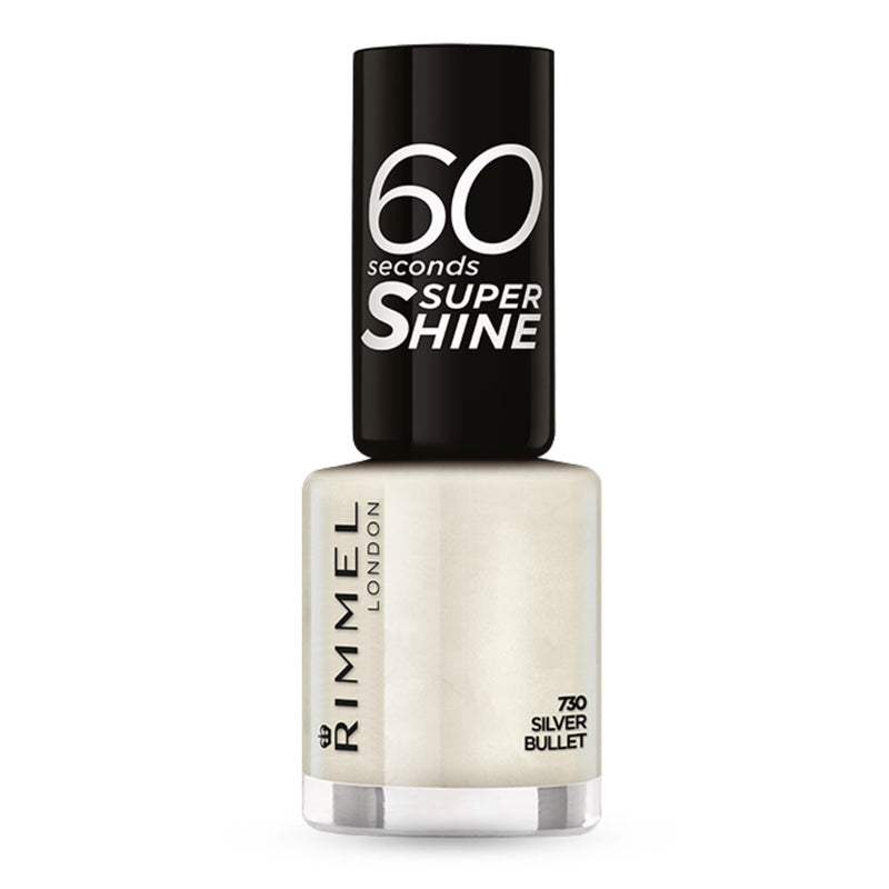 Rimmel 60 Seconds Nail Polish Silver Bullet