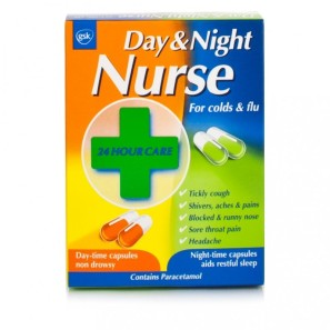 Day & Night Nurse 24 capsules