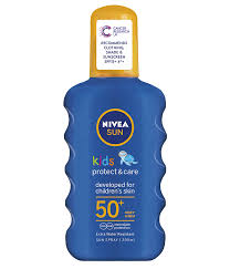 Nivea sun kids protect and care spray spf 50+ very high 200ml