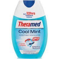 Theramed gel toothpaste 75ml cool mint