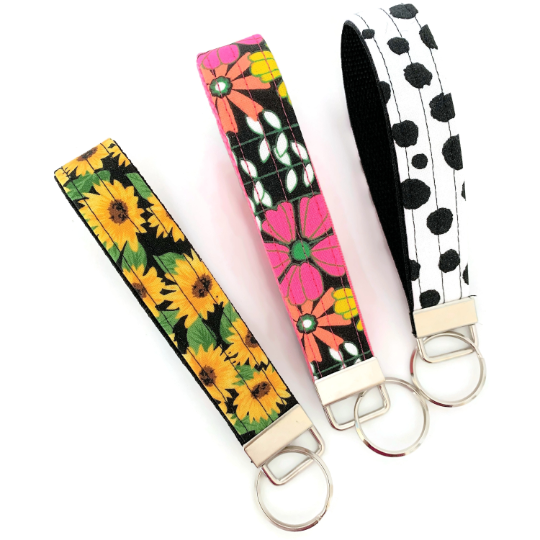 wide selection of theme key chains