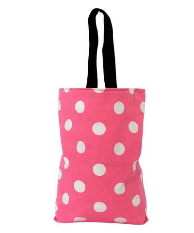 Polka Dots Pink - Car Accessory - Soft Garbage Bag Wipe Clean Lining