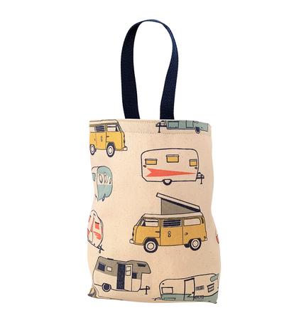Retro Camper Car Trash Bag