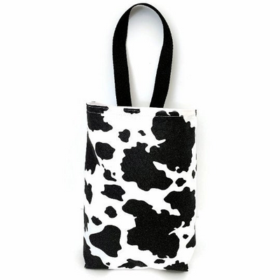 Cow Print Car Trash Bag - Car Accessory - Soft Wipe Clean Multipurpose  Garbage Bag