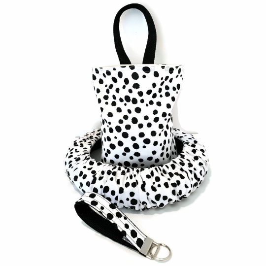 Dalmation Spots Steering Wheel Cover