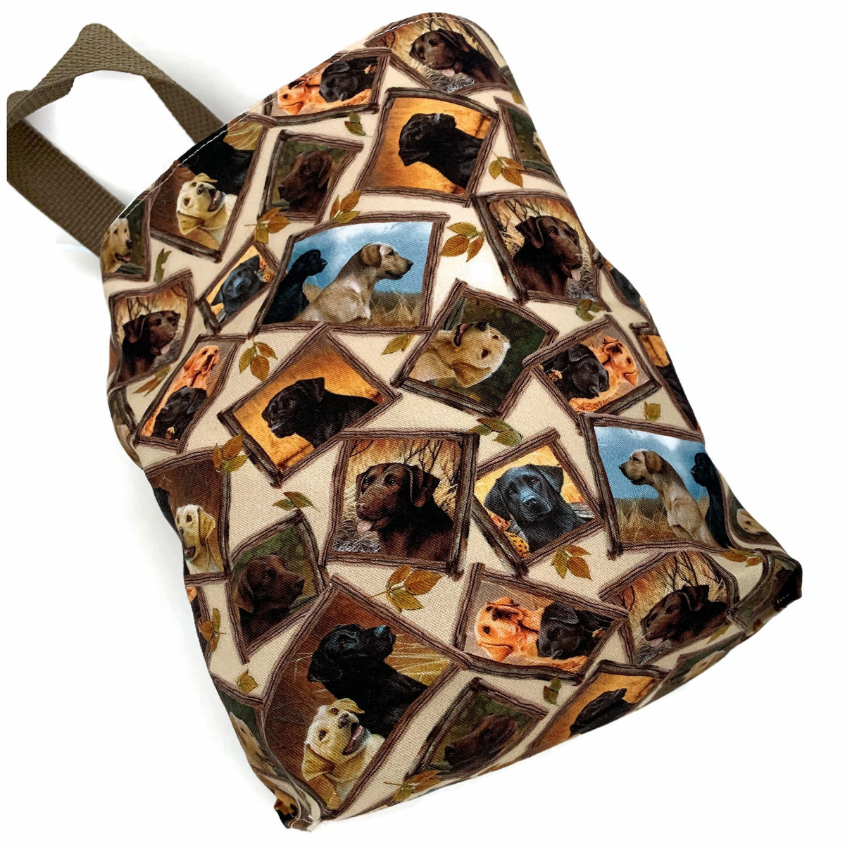 Labrador Retriever Car Trash Bag - Car Accessory - Lined Garbage Bag for Car - Soft Bag
