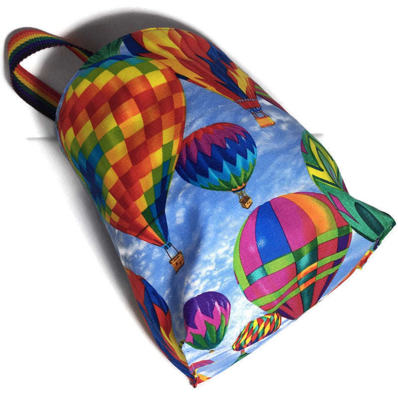 Balloons Car Trash Bag - Garbage Bag for Car - Multipurpose Lined Bag - Soft Bag