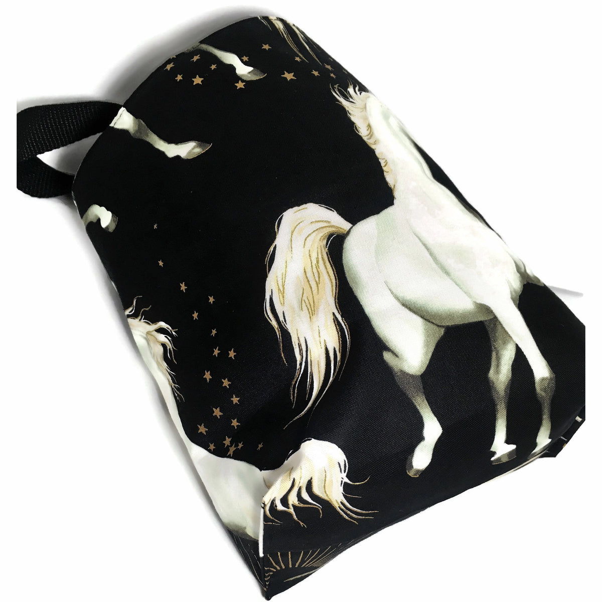 Unicorn Car Trash Bag - Lined Garbage for Cars - Wipe Clean Lining - Soft Bag - Car Acccessory