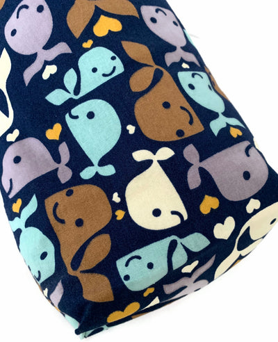 Whales Car Trash Bag - Cute Car Accessory - Multipurpose Soft Bag - Lined Trash Bag PUL