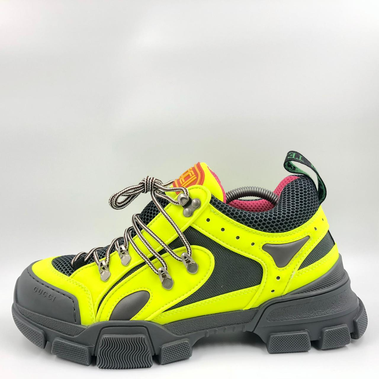 Gucci Flashtrek SEGA Reflective Yellow