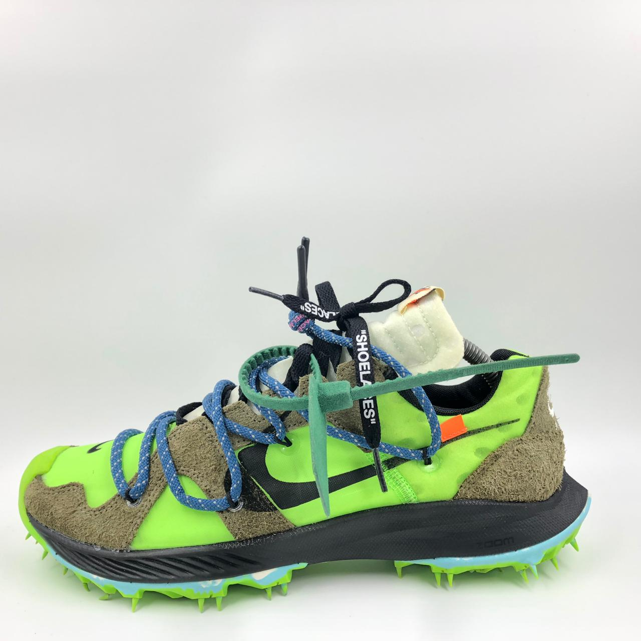 Nike Zoom Terra Kiger 5 OFF-WHITE Electric Green (W)