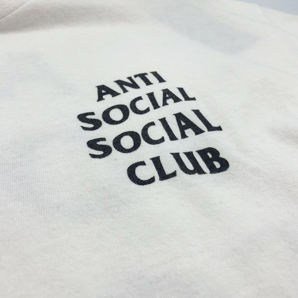Camiseta ASSC Anti Social Social Club Black and White