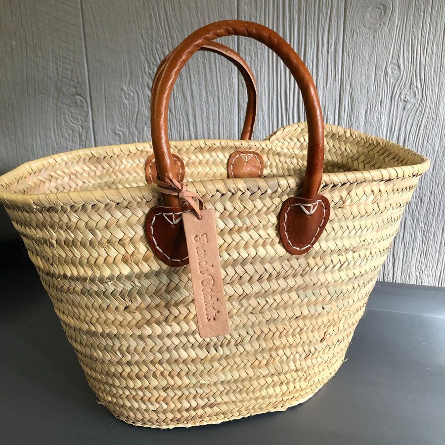 French Baskets w/ leather handle