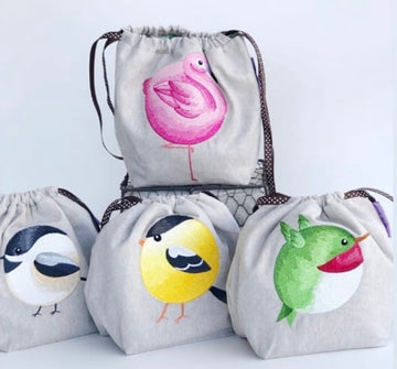 Wuthering Sheep Roly-Poly Bird Bags