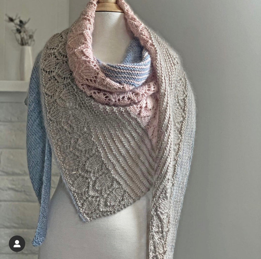 Emma's Yarn Modern Hygge Shawl Kit