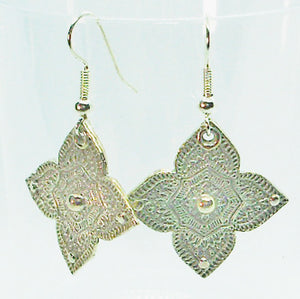 Mendhi Star earrings, large
