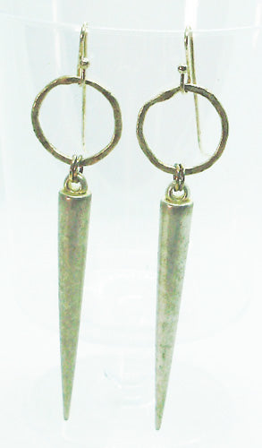 Glass Dagger earrings