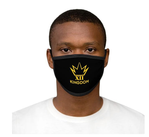 12KINGDOM LOGO - MIXED-FABRIC FACE MASK