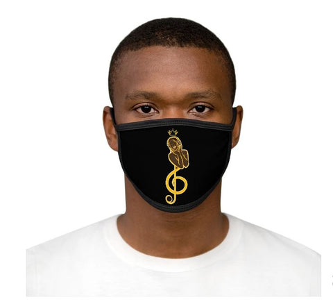FEEL THE MUSIC - MIXED-FABRIC FACE MASK-2