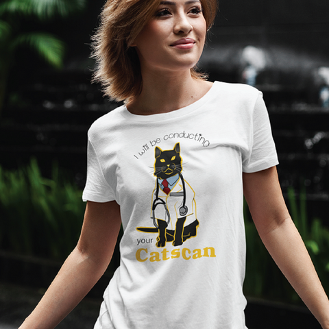 RAP CATSCAN COLLECTION women's t-shirt