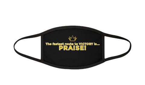 Praise - Mixed Fabric Face Mask
