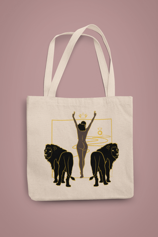 12 KINGDOM COLLECTION unique art print minimalist tote bag