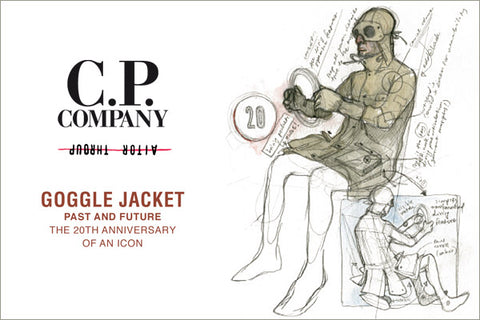 CP Company Aitor Throup 20th Anniversary Goggle Jacket