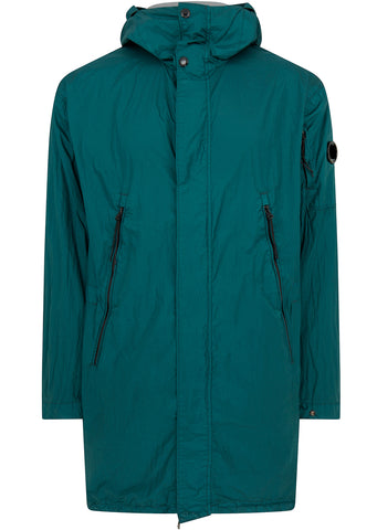 C.P. Company Nyfoil Parka in Green Gables