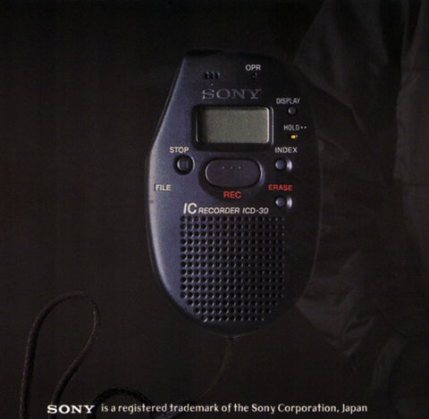 CP Company SONY REM Voice Recorder 1999
