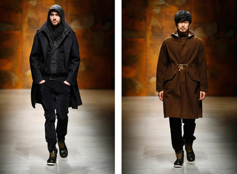 CP Company Wallace Faulds Autumn Winter 2010 Runway Show