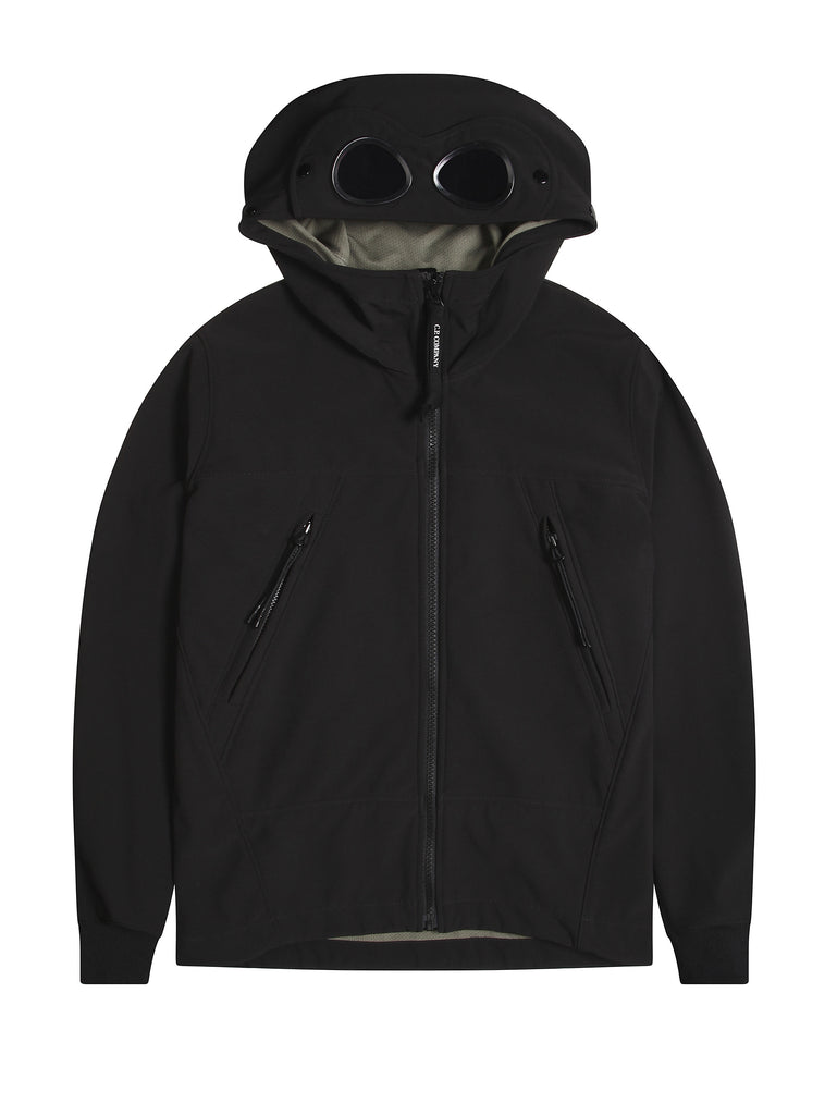 Undersixteen Soft Shell Goggle Jacket in Black