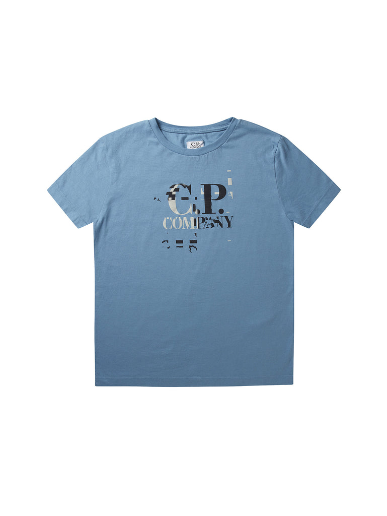 Undersixteen C.P. Logo SS T-Shirt in Blue