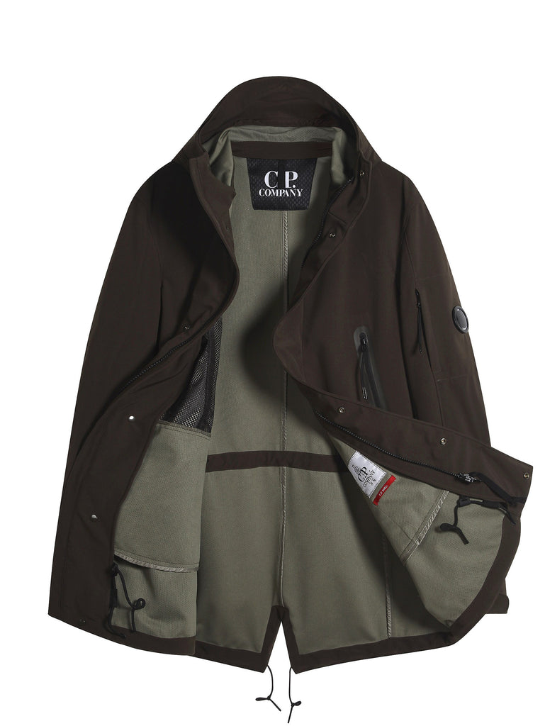 C.P. Company C.P. Shell Parka in Brown