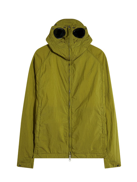 C.P. Company Piuma 50 Explorer Goggle Jacket in Green
