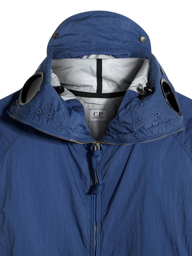 C.P. Company Piuma 50 Explorer Goggle Jacket in Blue