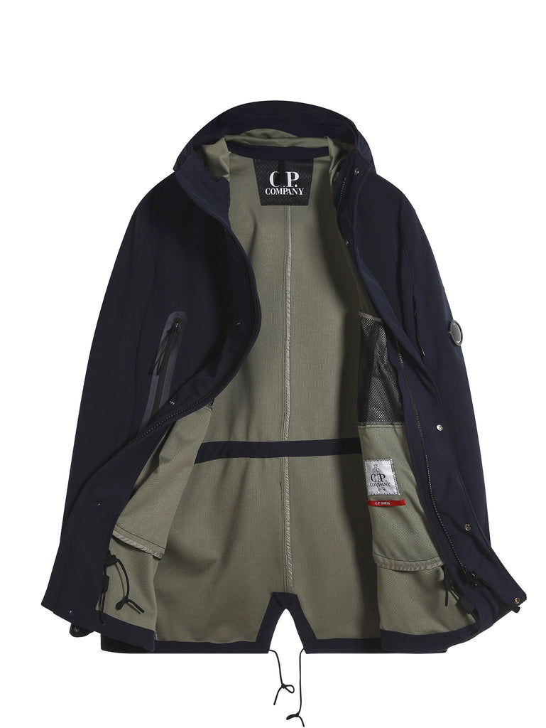 C.P. Company C.P. Shell Parka in Navy