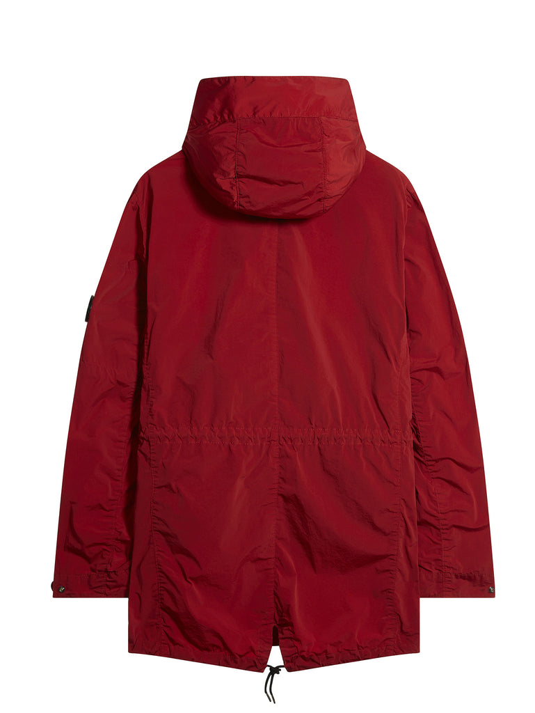 C.P. Company Nycra Fishtail Parka in Special Red