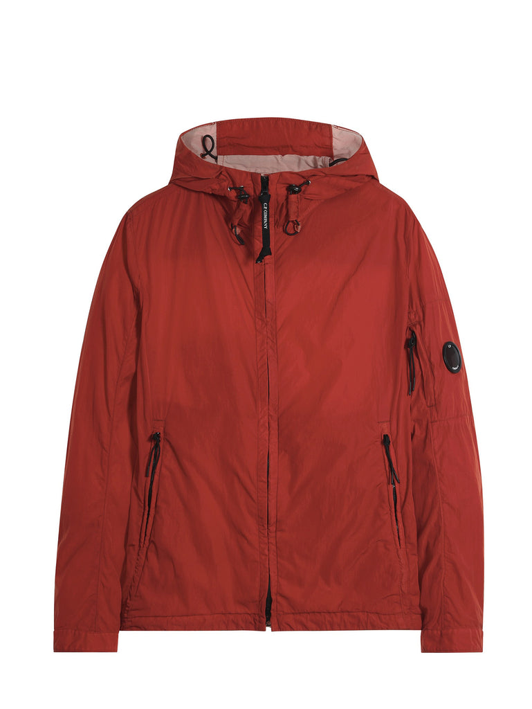 C.P. Company Chrome Hooded Jacket in Orange