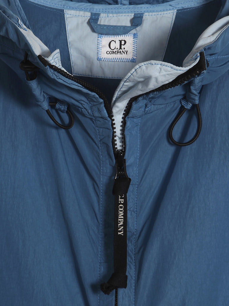C.P. Company Chrome Hooded Jacket in Blue