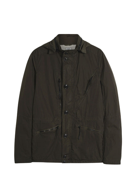 C.P. Company Chrome ML Jacket in Dark Green