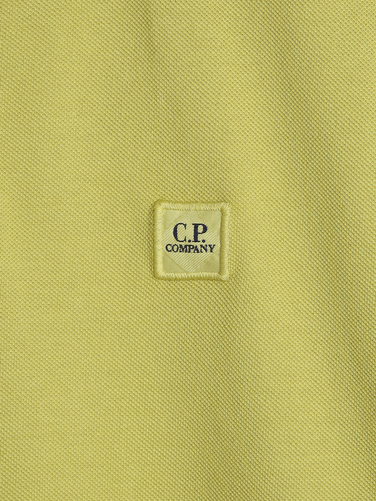 C.P. Company GD Regular Fit SS Polo Shirt in Yellow